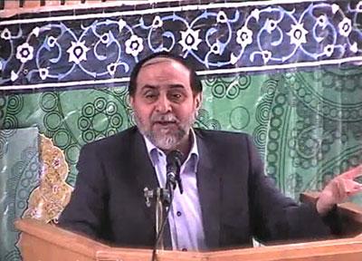 استاد رحیم پور ازغدی در مسجد دانشگاه علم و صنعت