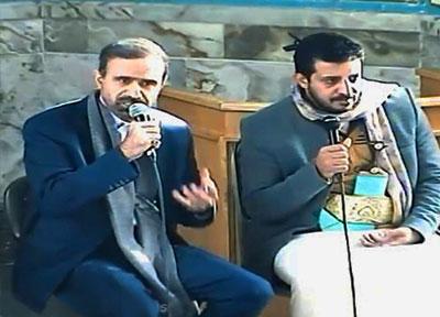 مهمانان یمن در مسجد دانشگاه علم و صنعت