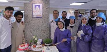 جهادگران سلامت نیروهای جهادی همیار سلامت در بیمارستان برای مقابله با کرونا
